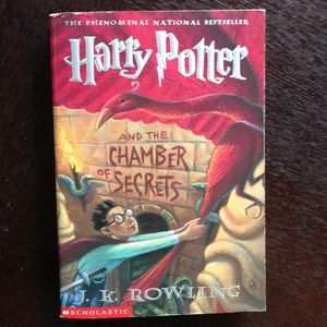 Harry Potter And The Chamber Of Secrets Book⚡️